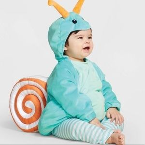 New Infant Snail Halloween costume NWT